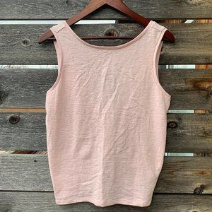 GAP Ballet Pink Stretchy Tie Top